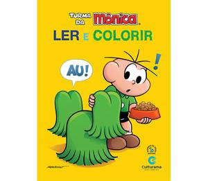 Ler e Colorir Cebolinha