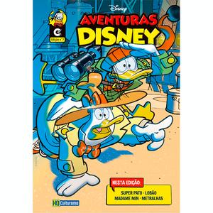 Histórias em Quadrinhos Aventuras Disney Edição 7