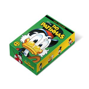 Box Quadrinhos Disney Tio Patinhas - Edições 0 a 4