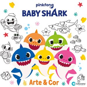 Arte e Cor - Baby Shark
