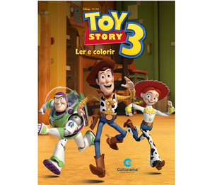 Gigante Ler e Colorir Toy Story
