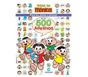 500 Adesivos Turma da Mônica