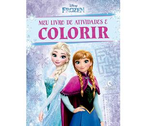 Meu Livro de Atividades e Colorir Frozen Pop
