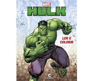 Ler e Colorir Hulk