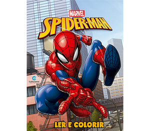 Ler e Colorir Homem-Aranha