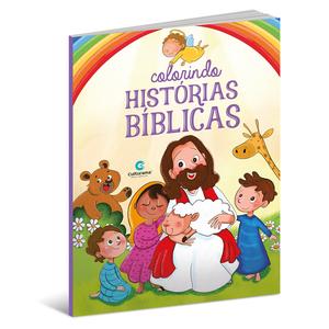 Colorindo Histórias Bíblicas