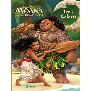 Ler e Colorir Moana Mod. 2