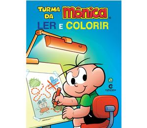Gigante Ler e Colorir Cebolinha