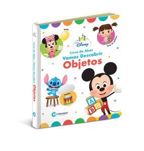 Livro de Abas Disney Baby Objetos