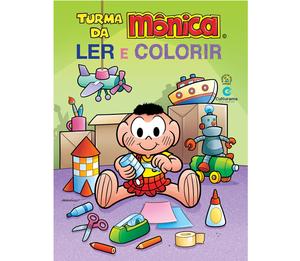 Gigante Ler e Colorir Cascão