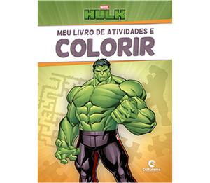 Meu Livro de Atividades e Colorir Hulk