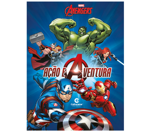Capa Dura Marvel Vingadores