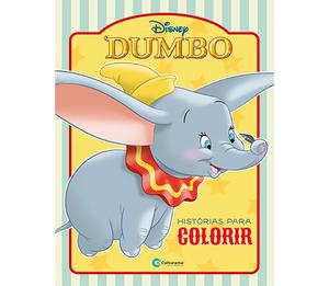 Dumbo Histórias para Colorir