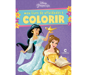 Meu Livro de Atividades e Colorir Princesas Pop
