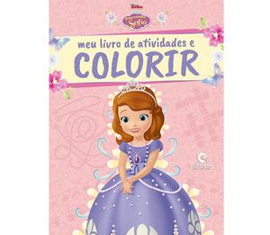 Meu Livro de Atividades e Colorir Princesinha Sofia Pop