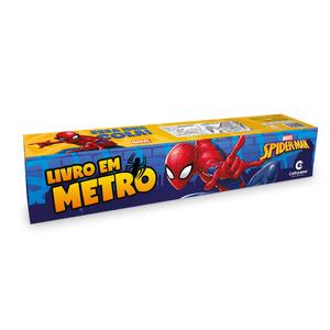 Livro em Metro Homem-Aranha