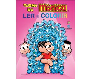 Gigante Ler e Colorir Turma da Mônica