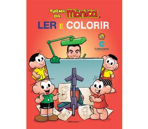 Ler e Colorir Turma da Mônica