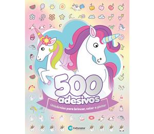 500 Adesivos Unicórnios
