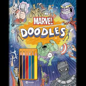 Marvel Doodles Ler e Colorir Com Lápis