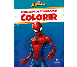 Meu Livro de Atividades e Colorir Homem-Aranha Pop