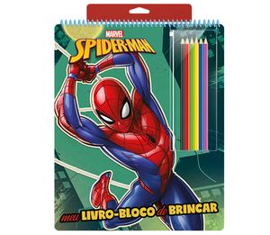 Meu Livro-Bloco de Brincar Homem-Aranha