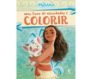 Meu Livro de Atividades e Colorir Moana Pop