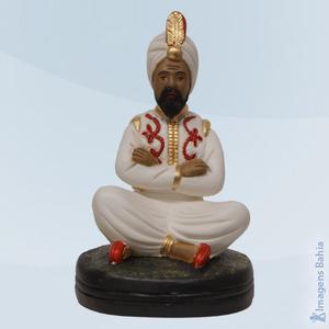 Deus Hindu com roupa branca, 40cm