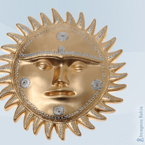 Imagem de Sol com rosto