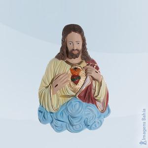 Imagem de Coração De Jesus (Busto/Parede)