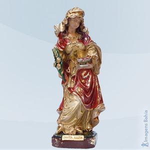 Imagem de Santa Luzia linha barroca