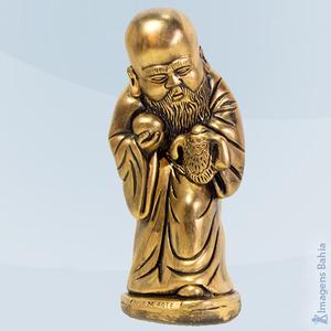 Deus Da Arte (Dourado), 20cm