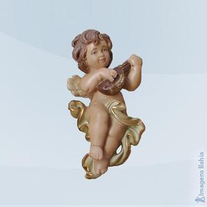 Anjo Tocando Viola, 12cm