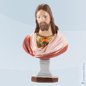 Coração de Jesus busto, 30cm