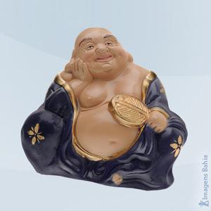 Imagem de Buda Cofre (Manto Azul)