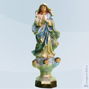 Nossa Senhora da Conceição linha barroca, 25cm