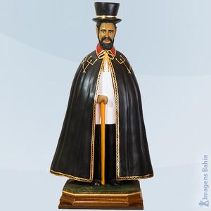 Exu Capa Preta da Encruzilhada, 80cm