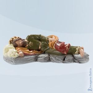 São José Dormindo em resina, 12cm
