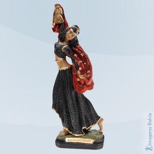 Imagem de Rainha das Ciganas roupa preta e vermelha