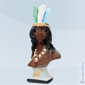 Cabocla Brava (Busto), 18cm