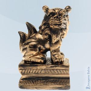 Imagem de Leão Chinês lado esquerdo preto