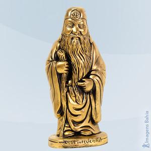 Deus Da Felicidade (Dourado), 20cm