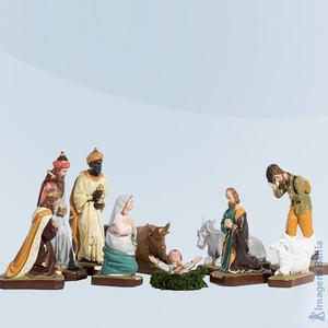 Imagem de Presépio 10 peças colorido