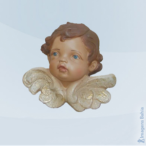 Rosto anjo direito, 10cm