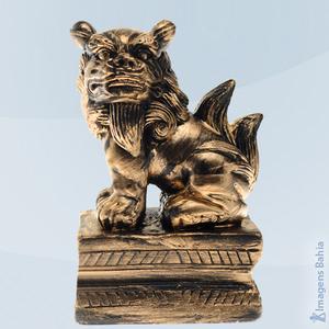 Imagem de Leão Chinês lado direito preto