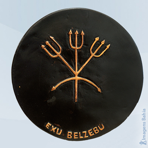 Ponto de Exu Belzebu, 18cm