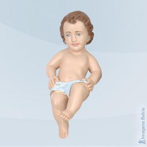 Imagem de Menino Jesus Mão Na Perna (Azul)
