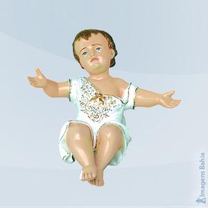 Imagem de Menino Jesus Com Roupa (Azul)