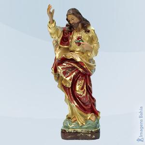 Imagem de Coração de Jesus linha barroca