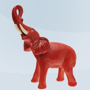 Imagem de Elefante vermelho
